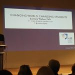 "Luxembourg: Conférence au Forum Campus Geesseknäppchen ""Changing world, changing students"" présentée par Dr. Zachary Walker, Mars 2017"